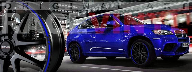 Racevinyl Race Car Rim Stripes