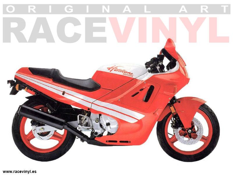 Cbr 600 F1 87 90 Racevinyl Europe Vinyl Sticker Kits For Rims