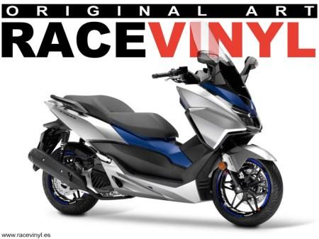 Rim Stickers for motorcycle Honda Forza Kit PRO