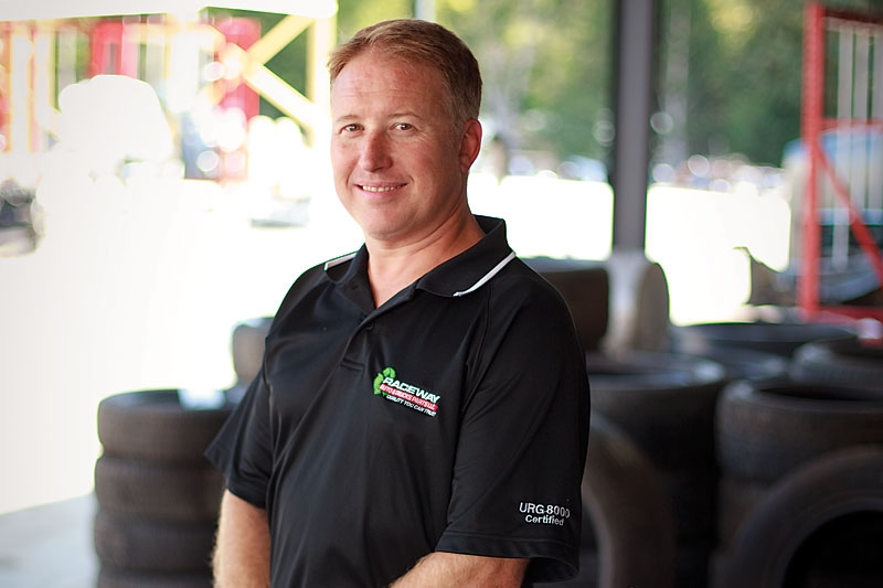 Raceway Owner, Gary Coln