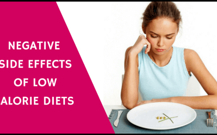 Negative Side Effects of Very Low Calorie Diets