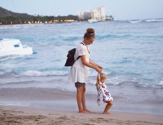 Waikiki Beach by Rachael Burgess