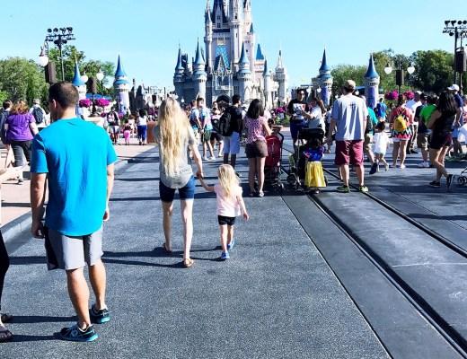 Disney World with two kids (Magic Kingdom) by Rachael Burgess