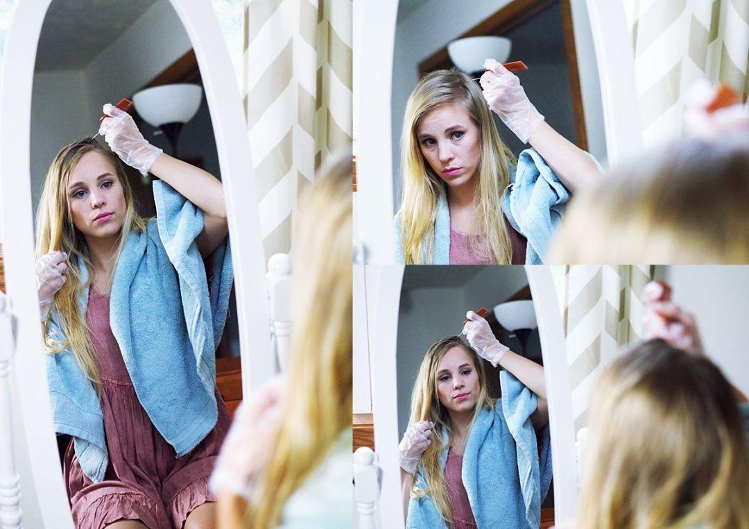 Highlighting Hair at Home by Rachael Burgess