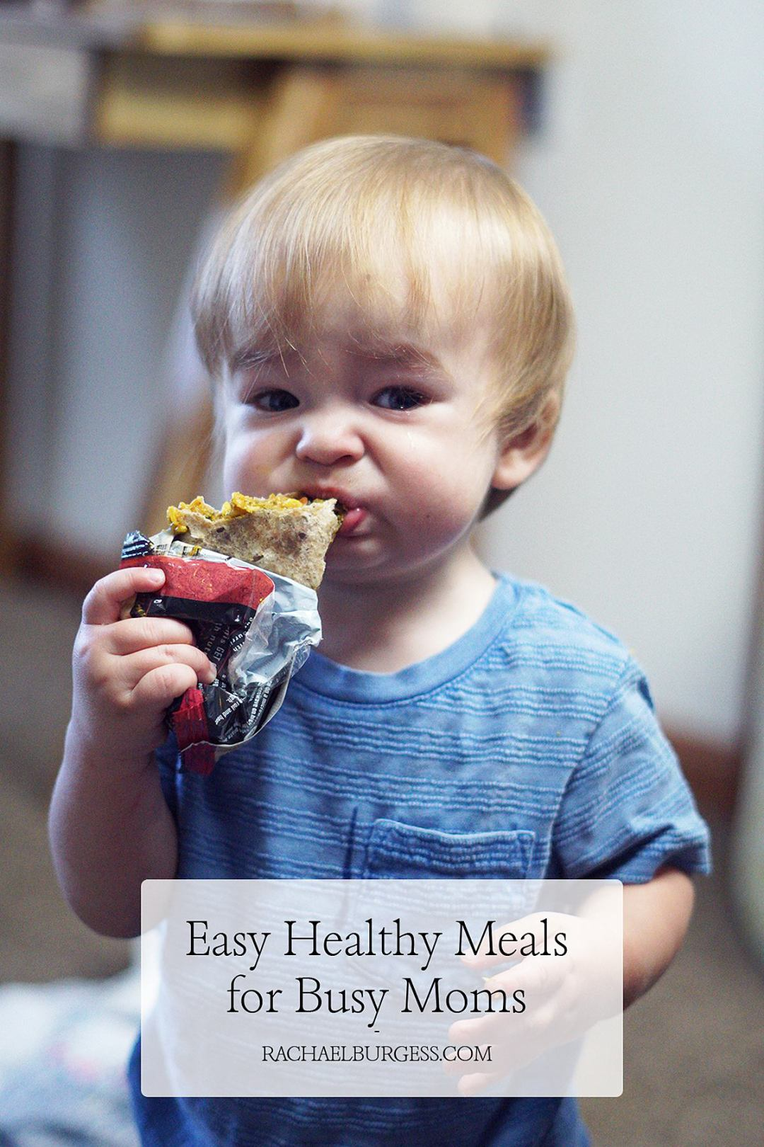Easy and Healthy Meals for Busy Moms | Rachael Burgess