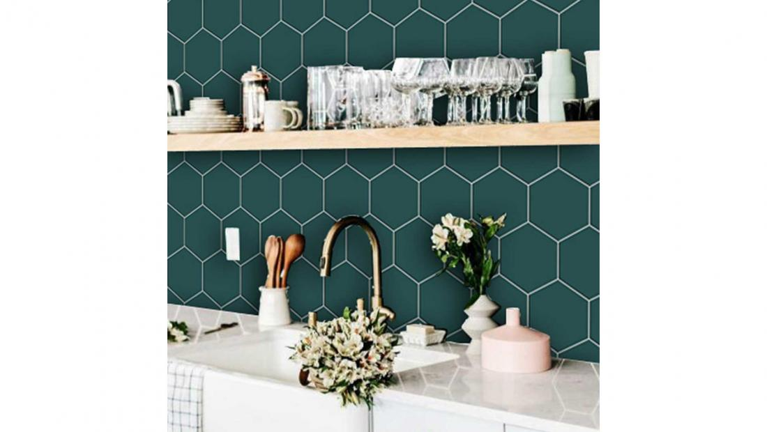 best peel and stick backsplash tiles