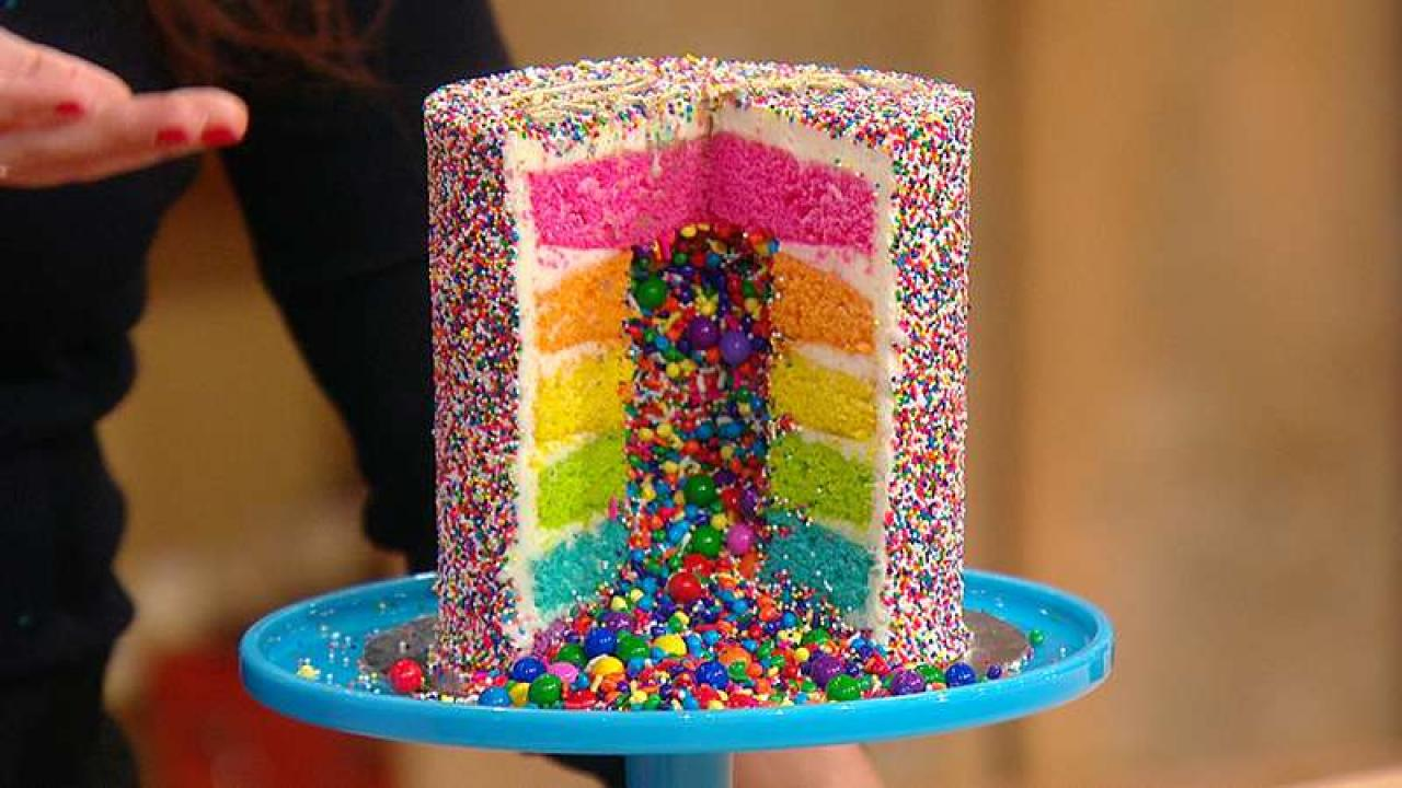 The Rainbow Explosion Cake Is The Birthday Cake Youve
