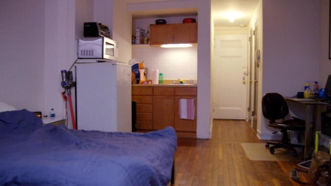 Tiny Nyc Apartment Gets Makeover On A Budget