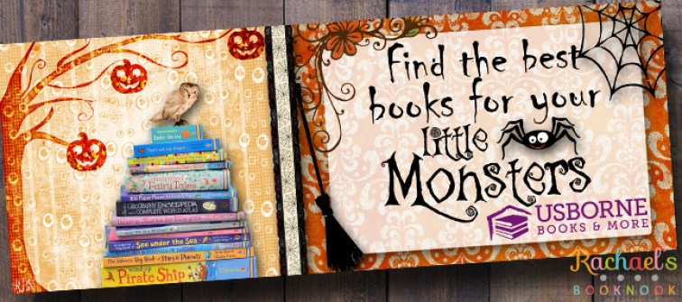Halloween Facebook Banner for Usborne