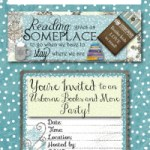 Winter Facebook Banner and Invites for Usborne Books and More