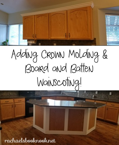 adding-molding-wainscoting