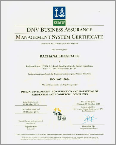 Experienced Real Estate Developers Certificate-2