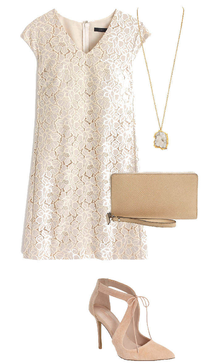 jcrew, white dress, lace dress, summer outfits