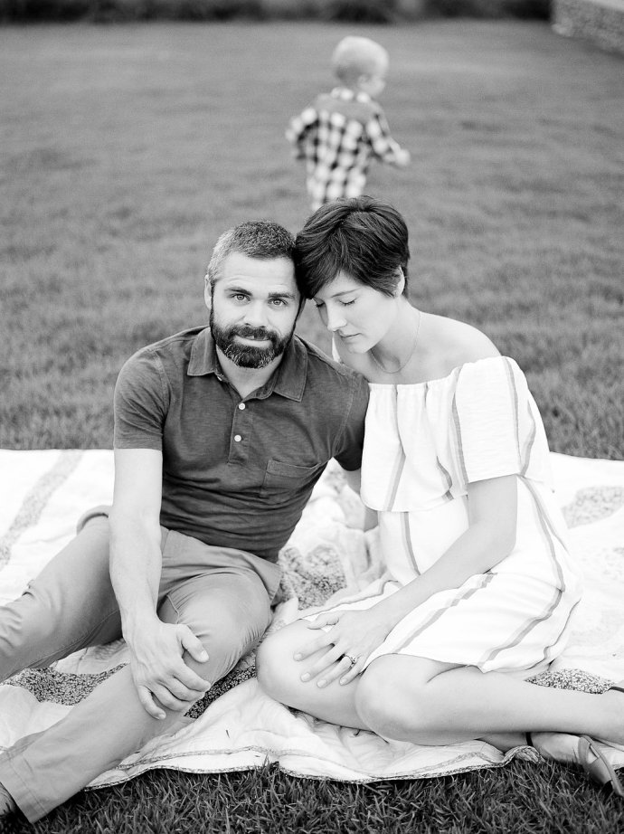 Family  Sweet Family Session at Railroad Park