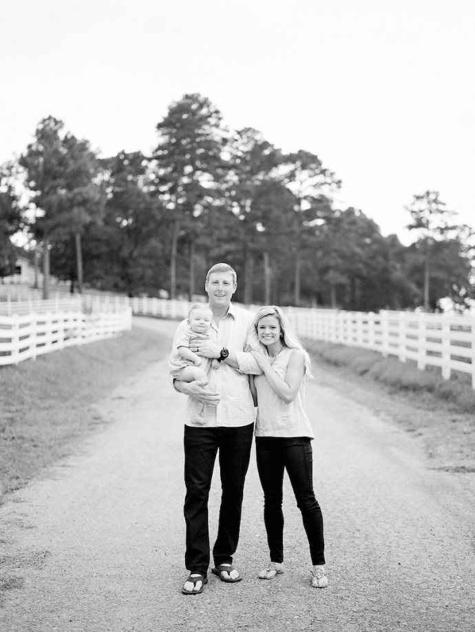 Family  Backyard Family Session In Shoal Creek