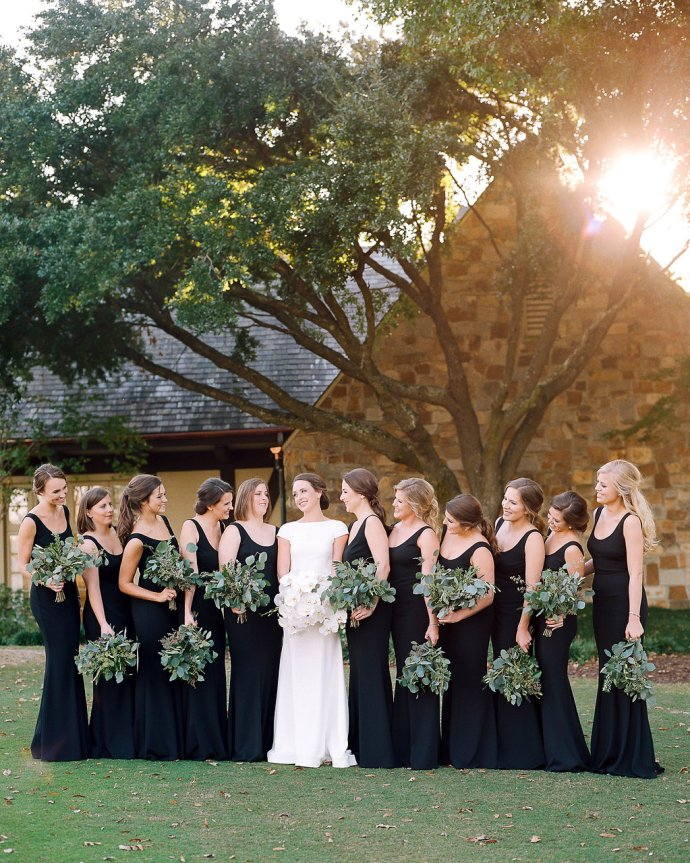 wedding  Orchid Filled Country Club Wedding