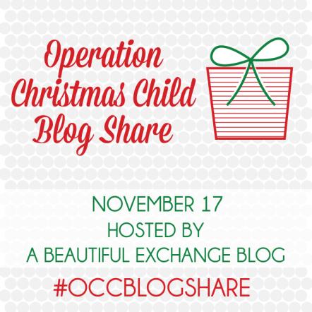 Operation Christmas Child Blog Share