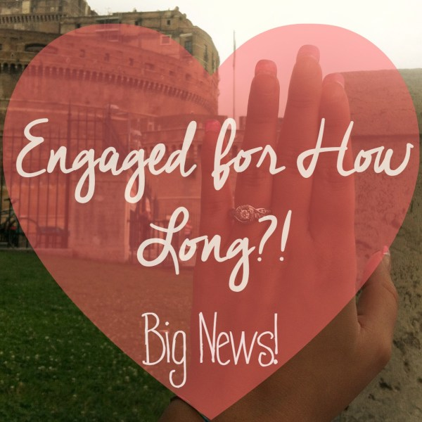 Engaged for How Long?! Choosing Human Blog // Here's my engagement story, how long I've been engaged, our plans and some pretty exciting news!