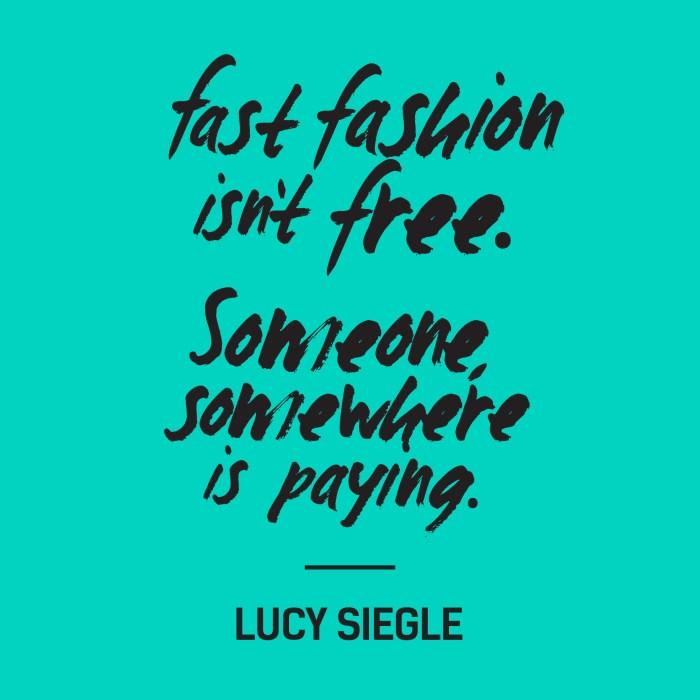Choosing Human and the Fashion Revolution