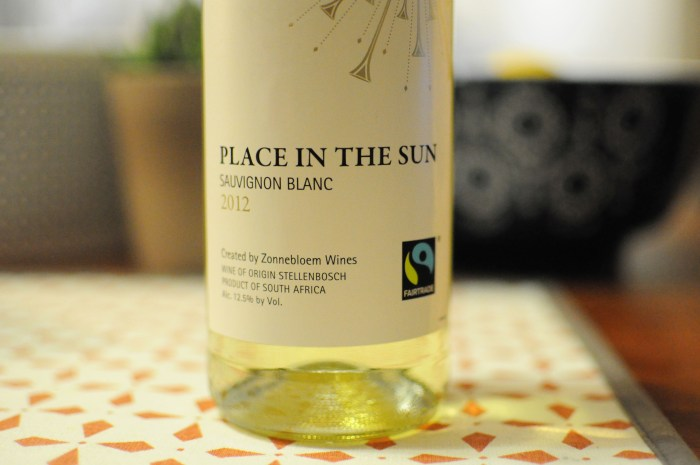 Choosing Human shares one of her favorite fair trade wines. Only the best and fairest to decompress after a long week!