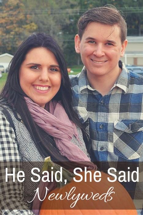 He Said, She Said: Newlyweds