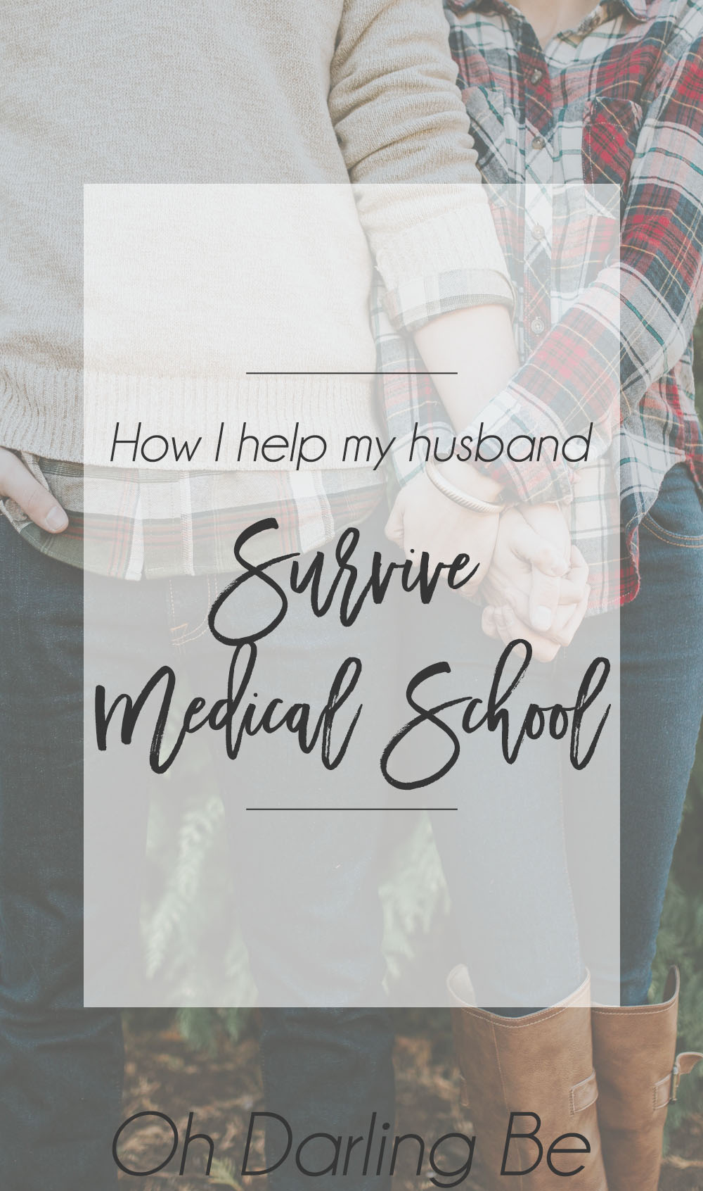 How I help my husband survive medical school