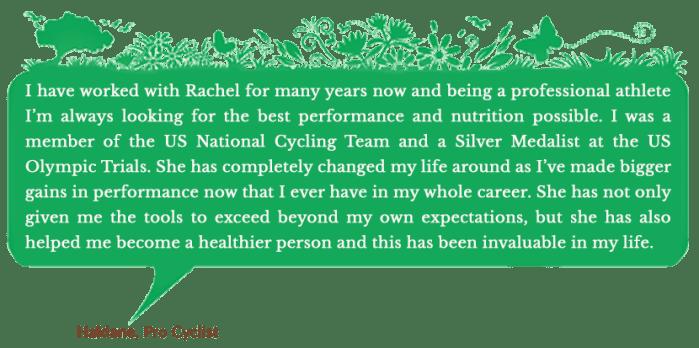 Holistic Living With Rachel Avalon - Coaching - Success Stories - Haldane
