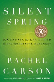 BOOK JACKET: Silent Spring, 50th Anniversary Edition