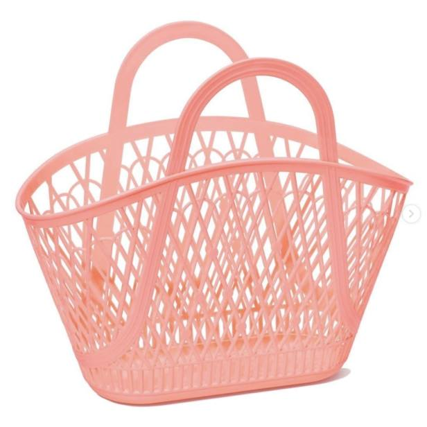 Pink Sunjellies basket