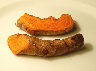 Fresh turmeric. Wikimedia Commons