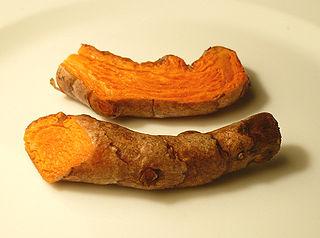 Fresh turmeric. Wikimedia Commons