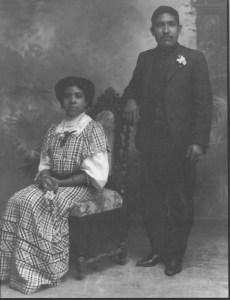 Afro Mexican Couple in Guanajuato, 1910, Romualado Garcia