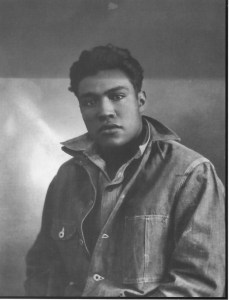 Afro-Mexican Young Man in Guanajuato, 1945, Hermanos Garcia