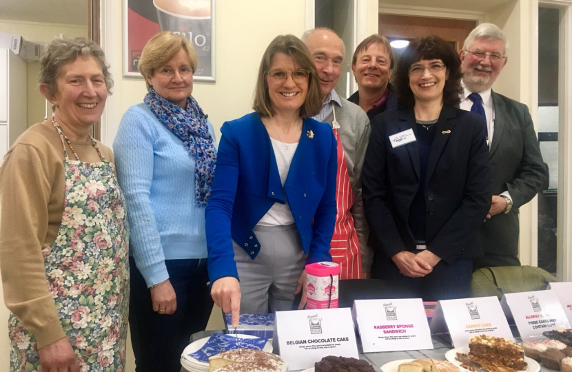 Join Rachel at the next stop on her coffee morning tour