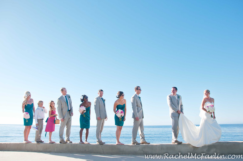 Top wedding photographer La Jolla San Diego - best most affordable wedding locations in San Diego for ocean view sunset wedding on the beachRachel McFarlin Photography