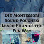 DIY Montessori Sound Pouches: Learn Phonics the Fun Way