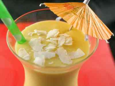 Don't Judge Me Mondays: Passionfruit Tequila Colada