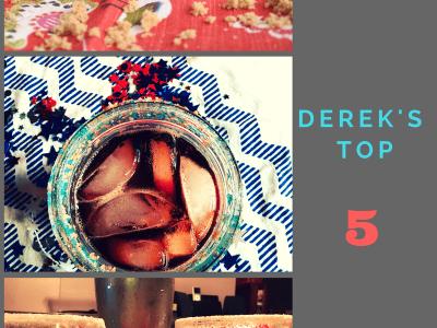 Don't Judge Me Mondays: Derek's Top 5!