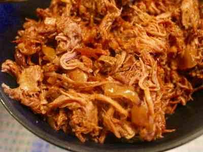 Honey Bourbon Pulled Pork