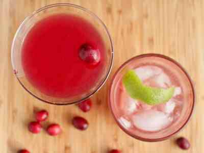 Don't Judge Me Mondays: Cranberry Margaritas Two Ways