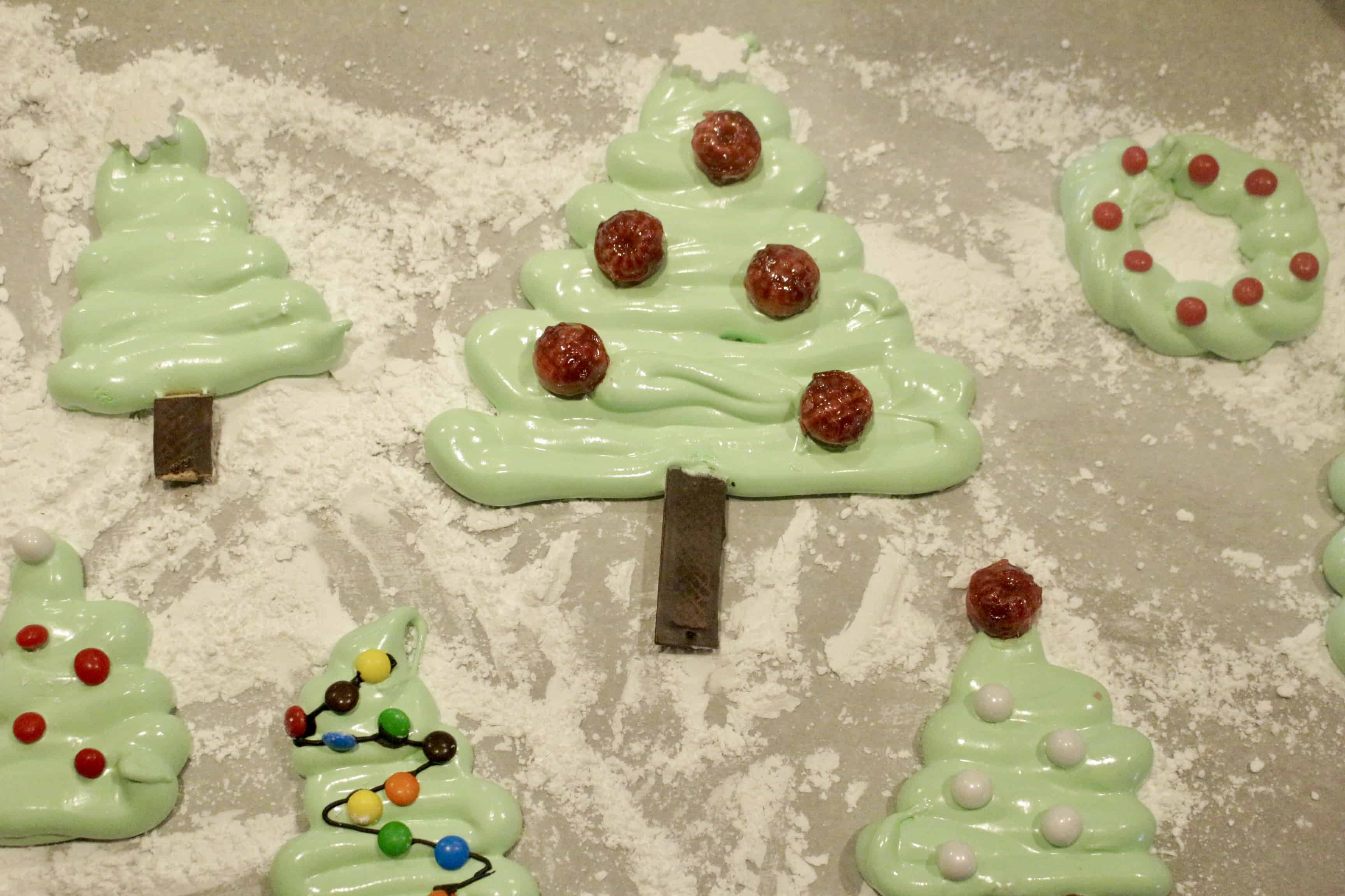 Peppermint Marshmallow Christmas Trees - By the Pounds