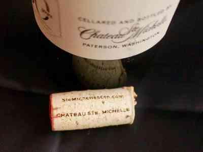Don't Judge Me Mondays: Chateau Ste. Michelle 50th Anniversary Cabernet