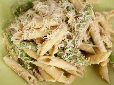 Asparagus & Parmesan Pasta Salad