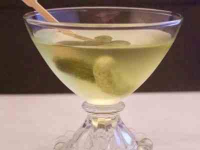 Don't Judge Me Mondays: Pickle Martini