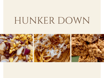 Flavor of the Month Summary: Hunker Down