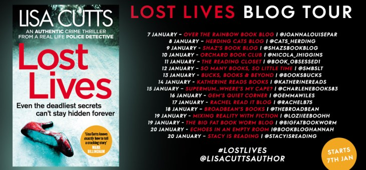 Blog Tour-'Lost Lives' by Lisa Cutts
