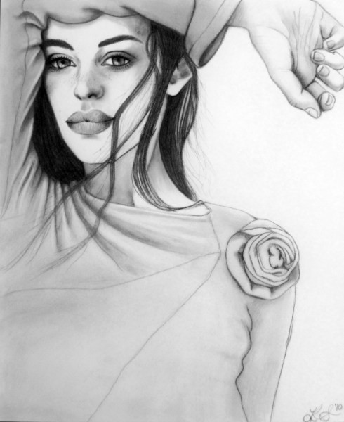 She Wore a Rose on Her Sleeve