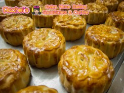 Mini Red Bean Paste Mooncake