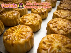 Mini Lotus Seed Paste Mooncake