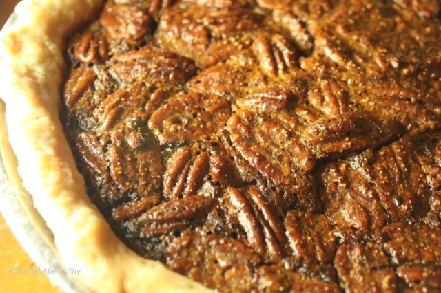 Sorghum Molasses Pecan Pie